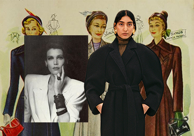 Interpretation of The Classic -- The Silhouette Trend for Women's Overcoats