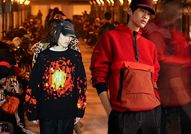 Changes -- The Comprehensive Analysis of Men's Knitwear in Four Fashion Weeks