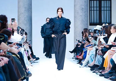 Navigation Season -- The Catwalk Analysis of Max Mara Womenswear