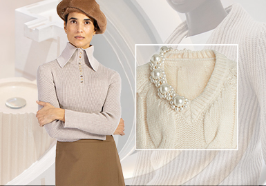 Collar -- The Craft Trend for Women's Knitwear