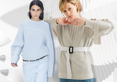 Sleeves -- The Craft Detail Trend for Women's Knitwear
