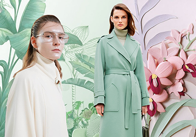 The Exquisite Life -- The Color Trend for A/W 21/22 Women's Overcoats