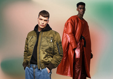 The Free Attitude -- The Silhouette Trend for Men's Puffa Jackets