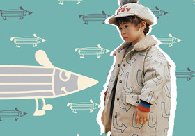 Fun Stick figure -- The Pattern Trend for Kidswear