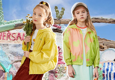 Fashion Party in The Sun -- The Comprehensive Analysis of Girls' Outerwear from Benchmark Brands