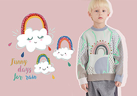 Rainbow and Cloud -- The Pattern Trend for Kidswear