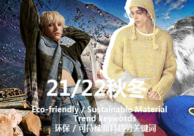 Key Words for A/W 21/22 Eco-friendly / Sustainable Material Trend