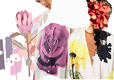 Blooming Florals -- The Pattern Trend for Women's Knitwear