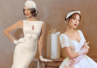 Romance of That Time -- The Craft Trend for Women's Wedding Dress