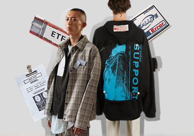 Sustainable Application -- The Accessory Trend for Men's Street Wear