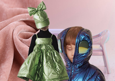 Colorful Warm Winter -- The Fabric Trend for A/W 21/22 Kidswear