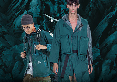 Dragonfly -- The Thematic Color Trend for Menswear