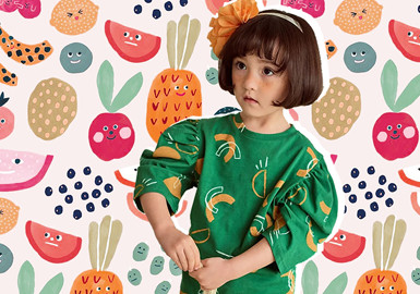 Fun Fruits -- The Pattern Trend for Kidswear