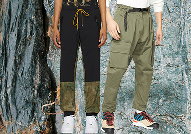 Recreate & Emerging -- The Silhouette Trend for Urban Outdoor Men's Trousers