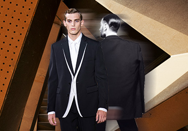 Gentleman Magician -- The Silhouette Trend for Men's Suits