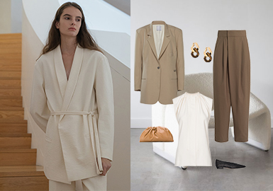 A Simple Life -- Clothing Collocation for Women's Minimalist Style