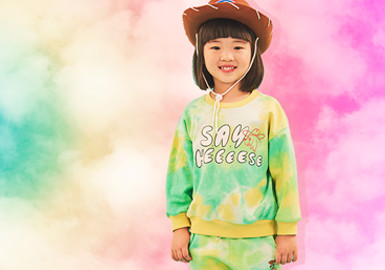 Dreamlike Ombre Dyeing -- The Pattern Trend for Kidswear