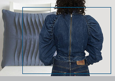 Tensile Crinkles -- The Craft Trend for Women's Denim