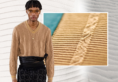 Exquisite -- The Stitch Craft Trend for Men's Knitwear