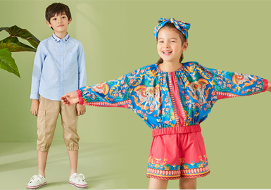 Vigorous Summer -- Elegant Prosper The Kidswear Benchmark Brand