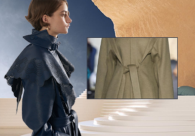 Elegant Protection -- The Craft Detail Trend for Women's Overcoats