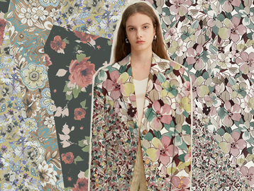 Mixed Collage -- The Pattern Trend for Womenswear