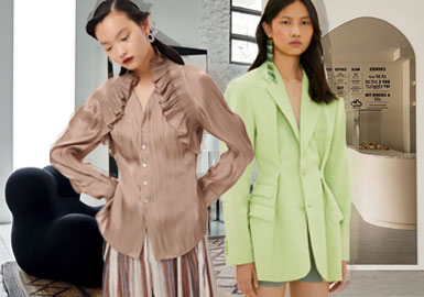 Elegant and Comfortable -- The Analysis of Lady Style Womenswear Designer Brands
