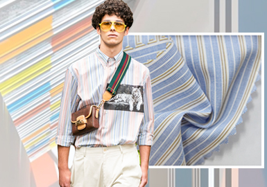 Renewed Summer -- The Trend for Men's Shirting