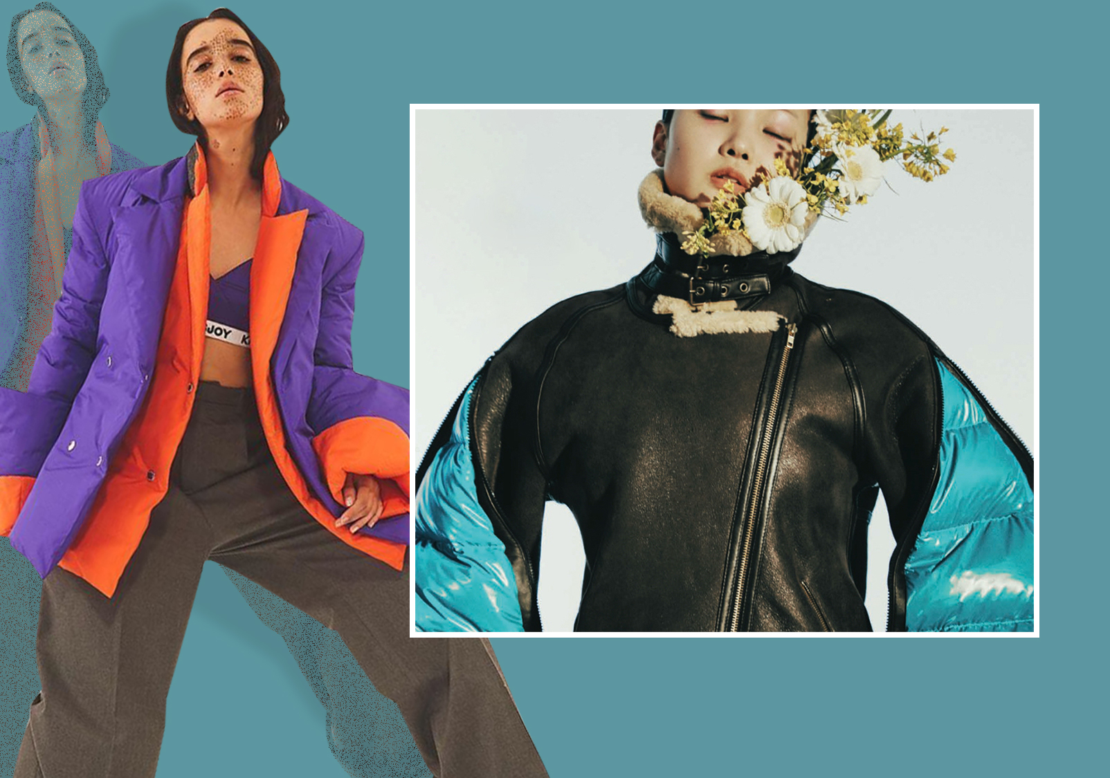 Placement Decorations -- The Craft Trend for Women's Puffa Jackets