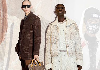 Practical and Refined -- The Silhouette Trend for Men's Knitted Jackets