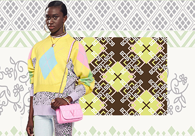 Fusion and Innovation -- The Pattern Trend for Women's Knitwear
