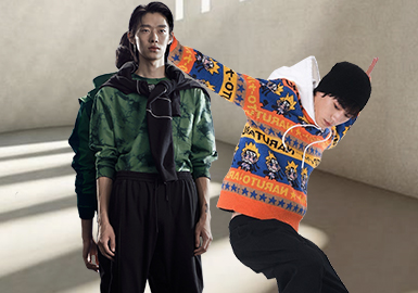 New Fashion for the Young -- The Analysis of Menswear Fashion Leisure Benchmark Brands