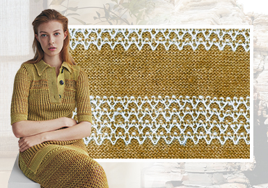 Elegant Slow Life -- The Yarn Trend for Women's Knitwear