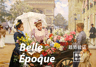 Belle Époque -- The Confirmation of Womenswear Color Trend