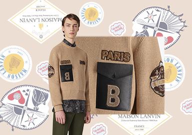Funky Patterns -- The Pattern Trend for Men's Knitwear