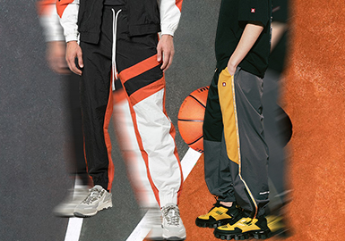 Time for Sports -- The Silhouette Trend for Men's Trousers