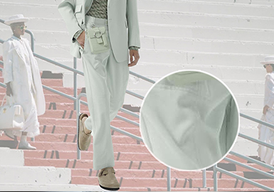 Trousers -- The Comprehensive Analysis of Fabrics on Menswear Catwalks