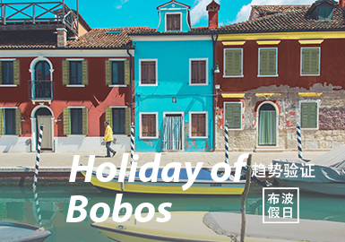 Holiday of Bobos -- The Confirmation of Menswear Color Trend