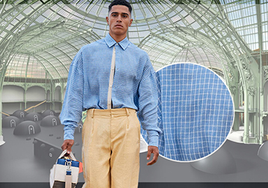 Shirting -- The Comprehensive Analysis of Fabrics on Menswear Catwalks