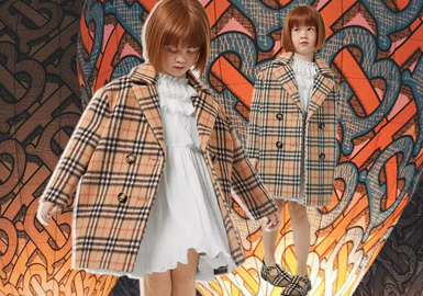 Renewed Letter and Pattern -- Burberry The Kidswear Benchmark Brand