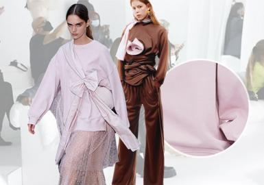 Knitted Fabrics -- The Comprehensive Analysis of Fabrics on Womenswear Catwalks