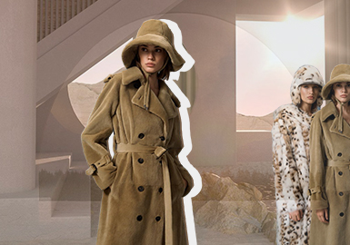 Winter Warmth -- The Silhouette Trend for Women's Leather and Fur Clothing