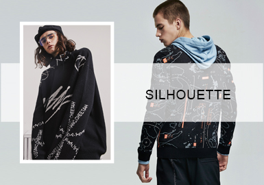 Leisure and Stylish -- Silhouette Trend of Men's Sweaters