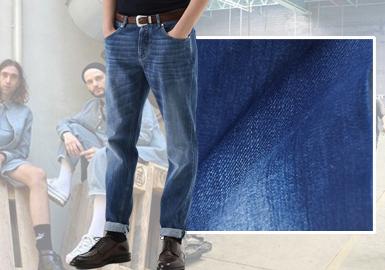 Sustainable Denim -- The Fabric Trend for Men's Denim