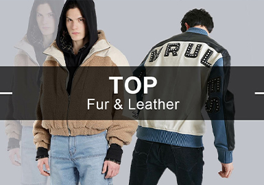 Fur&Leather -- Analysis of Popular Items in Menswear Markets