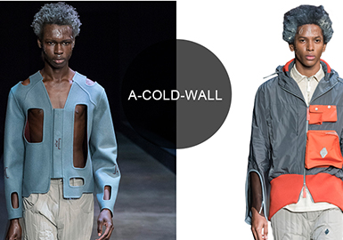 A-Cold-Wall -- 19/20 A/W Analysis of Catwalk Brands for Menswear