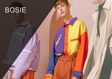 Bosie -- 2019 S/S Designer Brand for Menswear