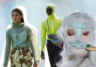 Portable Fashion -- The Silhouette Trend for Men's and Women's Sun-Proof Clothes