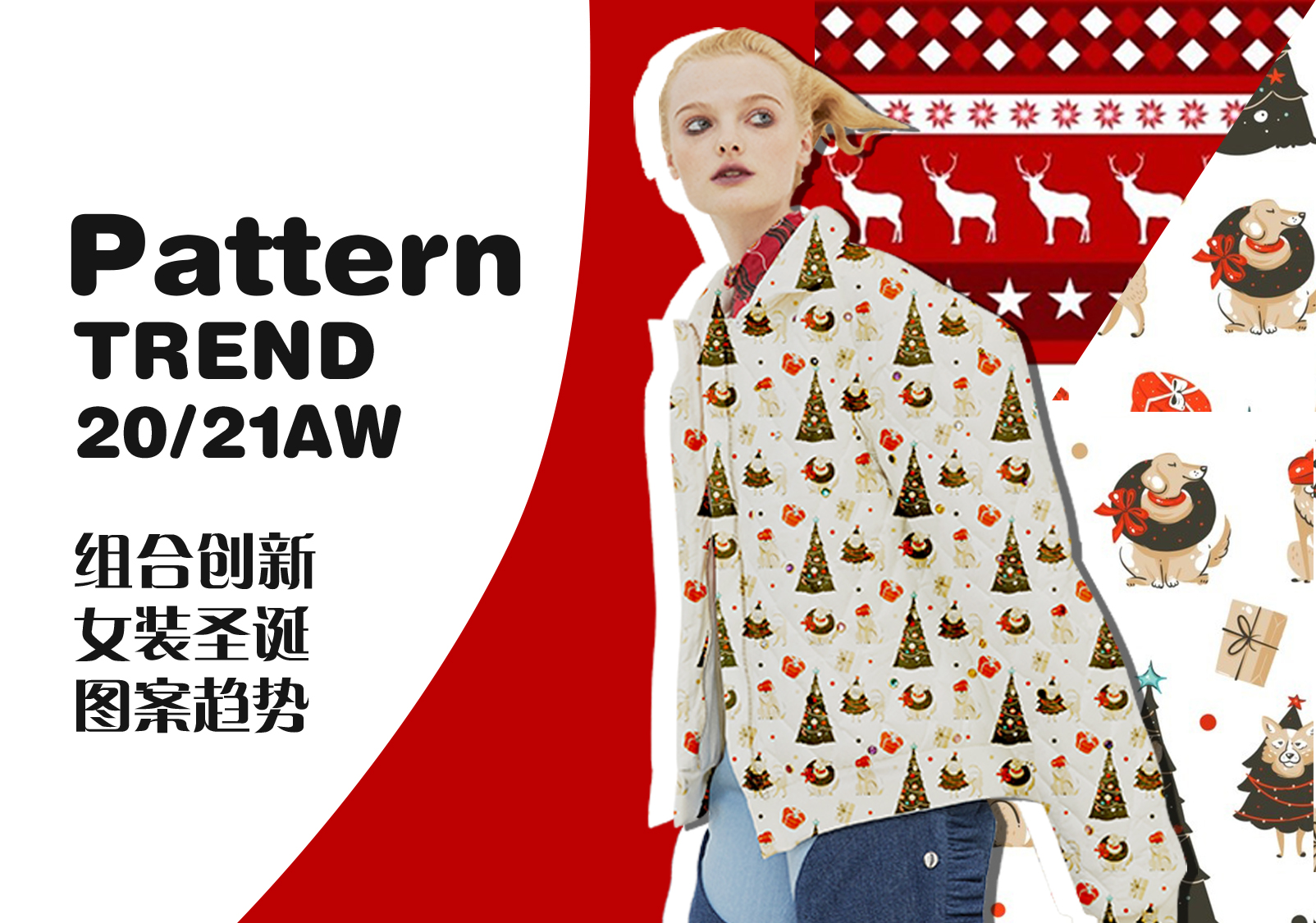 Novel Combinations -- The Christmas Pattern Trend for Womenswear