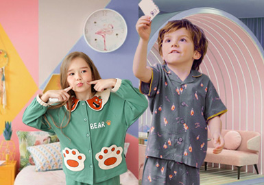 The Home Space -- The Color Trend for Kids' Loungewear
